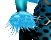 !!Neon Blue Wrist Cuff!!