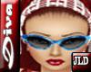 JLD~Diva Glasses Blue