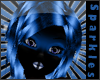 *S Neon Blue Hair