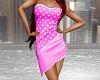 Spotted Dress - BBG Pink
