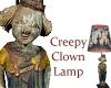 Creepy Clown Lamp