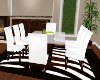 FD* White dining table