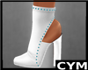 Cym White  Boots