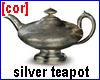 [cor] Silver teapot