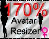 *M* Avatar Scaler 170%