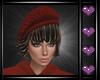 e Paris Hat Mine Red