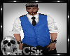 CS Mens Vest Blue
