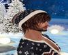 Winter Knit Hat & Hair