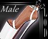 !! Male White Platform