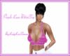 Purple Lace Bikini Top