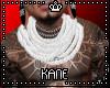 K! White Neck Rope