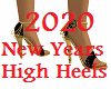 2020 New Year High Heels