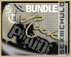 [iRock Plaid BUNDLE}Blk