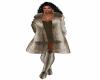 Chincilla fur coat