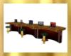 5 Seat Computer Bar