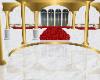 White Gold Red Ballroom