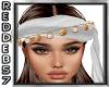 White Boho Headband