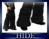 [H] Fur boots blk