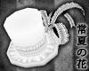 White Lolita Hat [T]