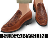 /su/ CARVED LOAFER