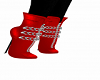 Red Chained Boots