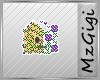 Floral Birdhouse Badge