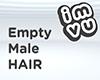 Empty Male Hair
