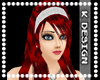 [*K] Red Kamila WhiteBan