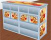 Pooh&Tigger Dresser Blue
