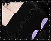 Bows & pearls Purpl Shoe