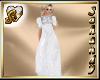 """""""S"""" MEDIEVAL WHITE DRESS"""