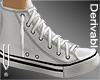 -V- Canvas Shoes 01F