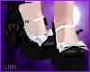 [L] Black Maid Shoes