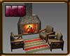 [7V4] Fireplace Outside