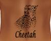 Cheetah Back Tattoo F