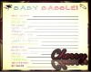 Baby Shower Babble Game