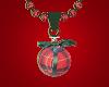 Plaid Bauble Necklace