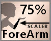 75% ForeArm Scaler F A