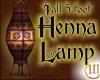 5 Foot Tall Henna Lamp