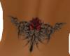 lower bk tribal rose tat