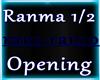 Ranma 1/2 Opening