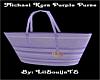 *MK Purple Purse*