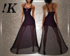 !K! Sheer Cocktail Gown