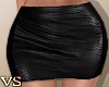 {VS} Leather Mini Skirt