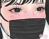 ♡ black mask