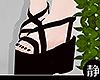 ☁ Black Sandals