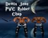 Demin Jean PVC Chap