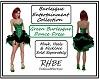 RHBE.GreenBurlesqueDress