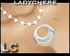 LC Silver Opal Boho Neck