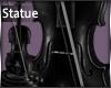 Black Violin Statue